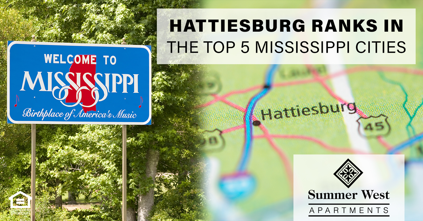Hattiesburg ranks in top 5 Mississippi Cities