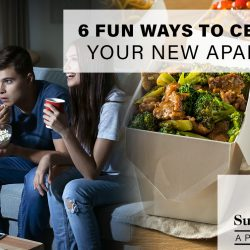 Fun Ways to Celebrate Your New Apartment