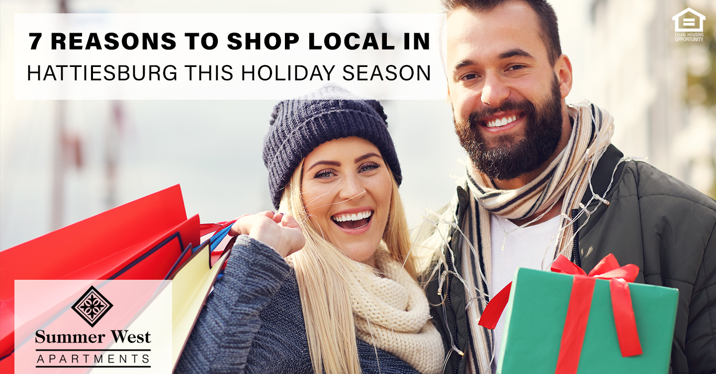 Shop Local in Hattiesburg this Holiday Season