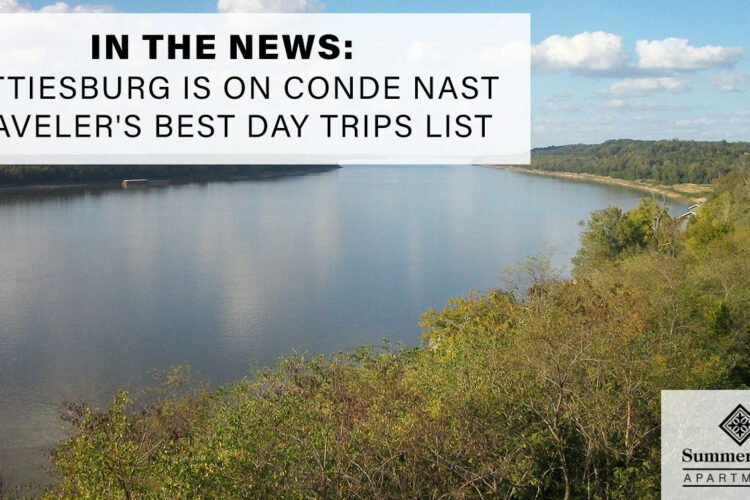 In the News: Hattiesburg is on Conde Nast Traveler's Best Day Trips List