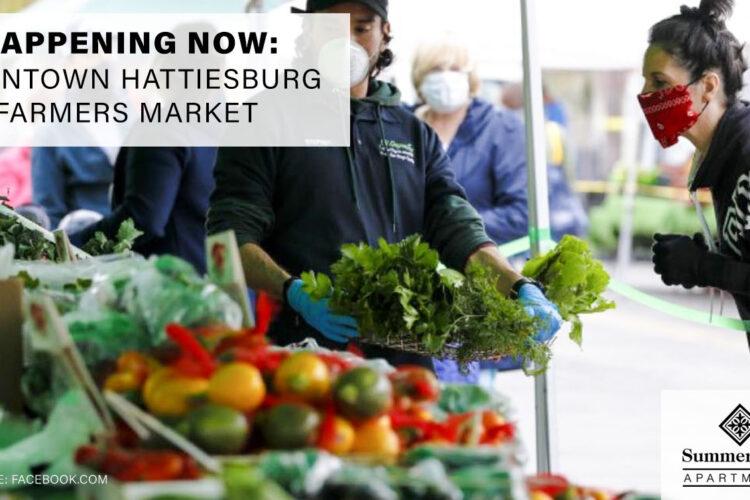Happening Now: Downtown Hattiesburg Farmers Market