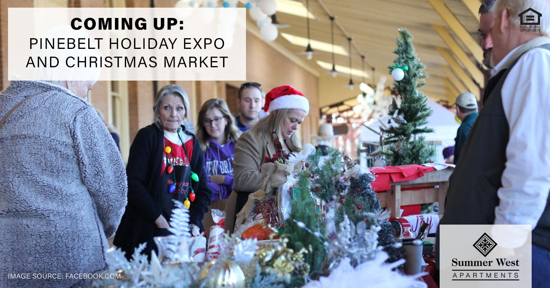 Coming Up: Pinebelt Holiday Expo and Christmas Market