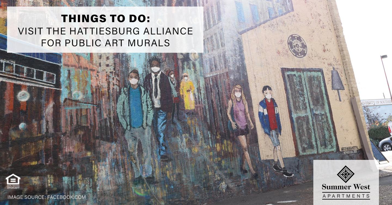 Hattiesburg Alliance for Public Art Murals