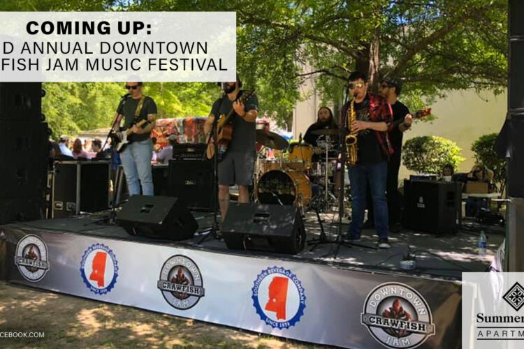 Coming Up: 22nd Annual Downtown Crawfish Jam Music Festival