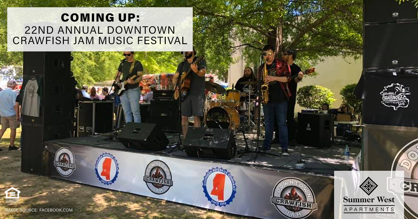 22nd Annual Downtown Crawfish Jam Music Festival