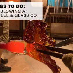 Glass Blowing at Mohawk Steel & Glass Co.