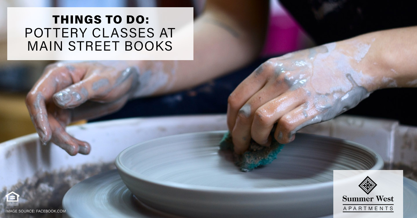 Things to Do: Pottery Classes at Main Street Books